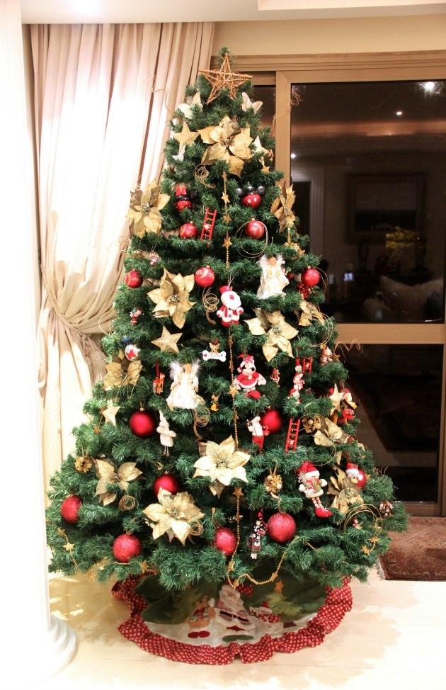 Árvore de Natal Lari Duarte como montar inspiração