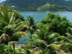 Vista da sala da casa da Ilha de Caras