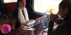 Viajando de trem com Rail Europe
