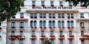 Minha hospedagem no Principe di Savoia