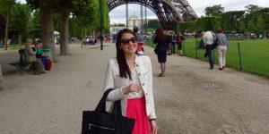 Look de um dia ensolarado em Paris