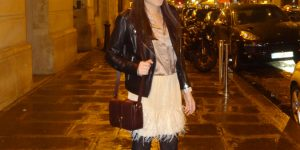 Look do dia: plumas em Paris