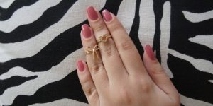 Anéis de falange na Lilac