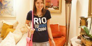 Look do dia: Rio Eu Amo Eu Cuido