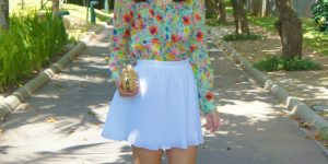 Look do dia: floral