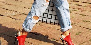 A volta dos jeans rasgados