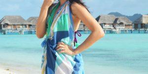 LARI TV: lenço como saída de praia