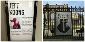 Exposições em Paris