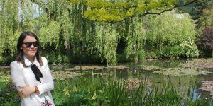 Look do dia: visitando a casa de Monet