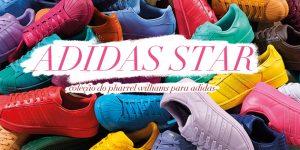 Coleção Pharell William para Adidas no Brasil
