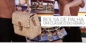 Bolsa de palha, um clássico do verão
