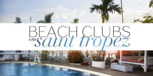 Beach Clubs em Saint-Tropez